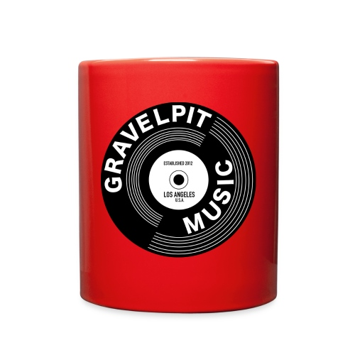 GRAVELPIT RECORD LOGO - Full Color Mug