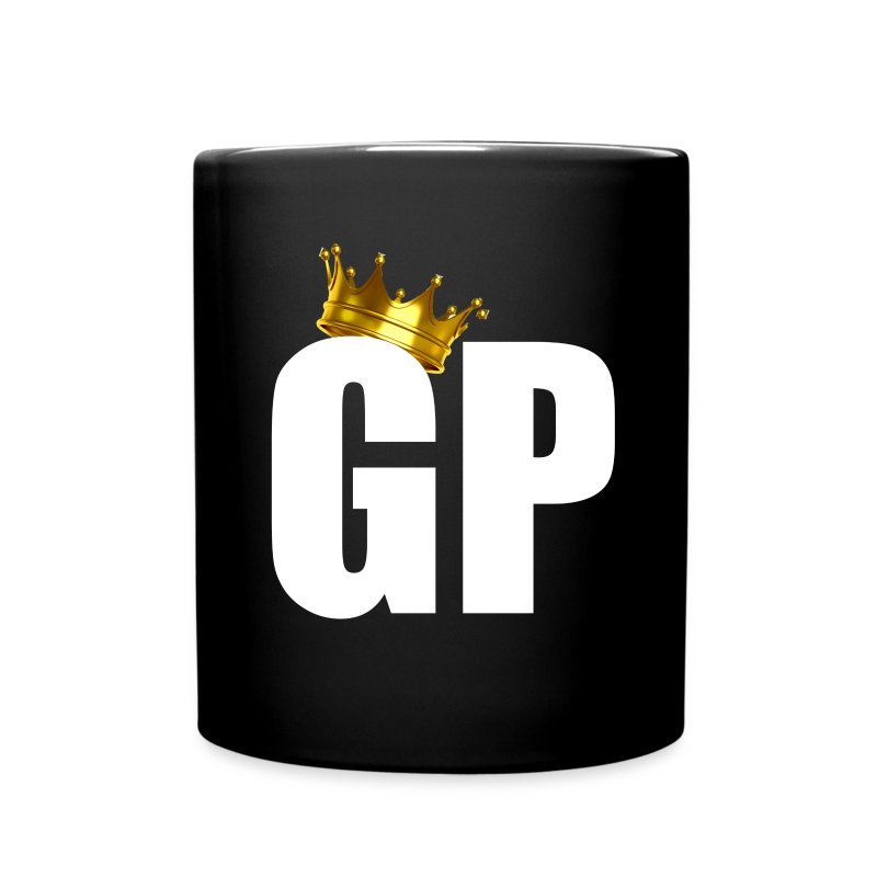 GRAVELPIT CROWN WHITE - Full Color Mug