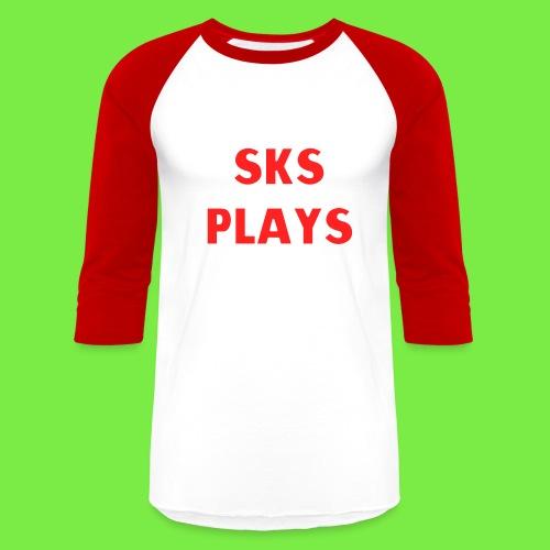 SKS Plays Baseball T-Shirt - Baseball T-Shirt