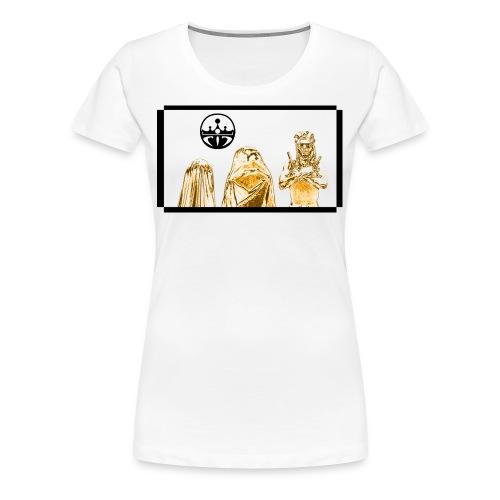Women's Gold Trinity 1 - Women's Premium T-Shirt