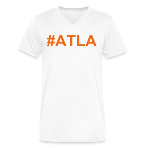Men's V-Neck ATLA T-Shirt - Men's V-Neck T-Shirt by Canvas