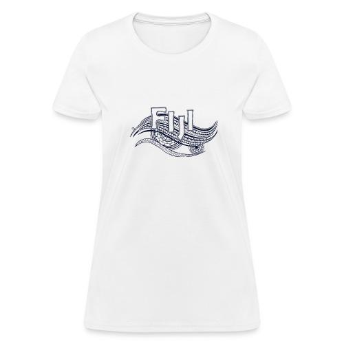 Fiji Wave Tribal T-Shirt - Women's T-Shirt