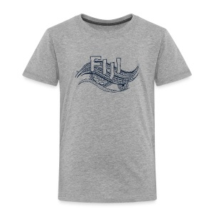 Fiji Wave Tribal T-Shirt - Toddler Premium T-Shirt