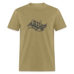 Fiji Wave Tribal T-Shirt - Men's T-Shirt