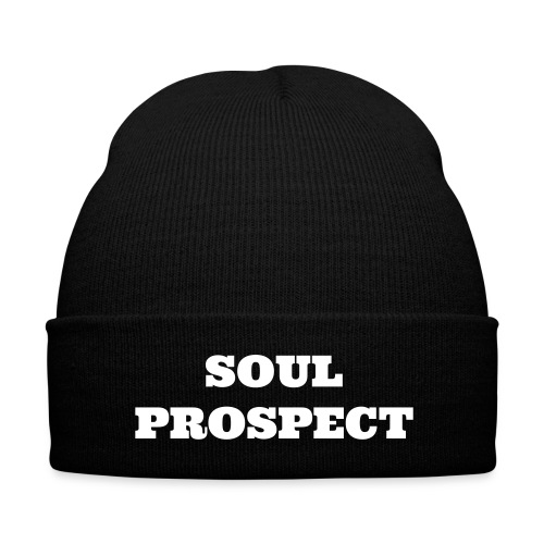 SOUL PROSPECT winter hat - Knit Cap with Cuff Print