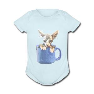Cute kitty 2 - Short Sleeve Baby Bodysuit