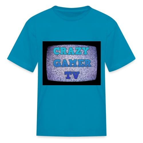 Crazy GamerTV t-shirt kids - Kids' T-Shirt