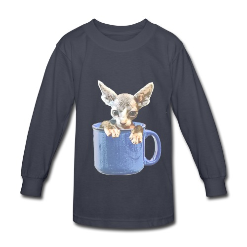 Cute kitty 2 - Kids' Long Sleeve T-Shirt