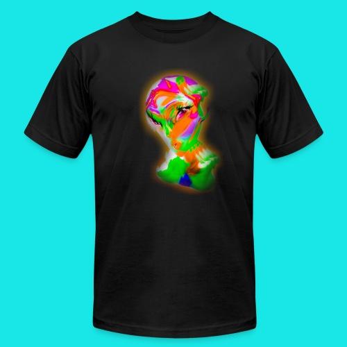 Colorful Aliena (in black) - Men's  Jersey T-Shirt