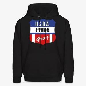 USDA Prime Gainz Hoodie - Men's Hoodie