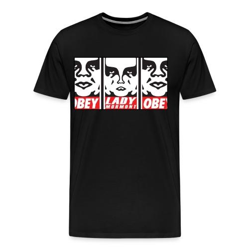 OBEY Lady Mormont Premium Tee Shirt - Men's Premium T-Shirt