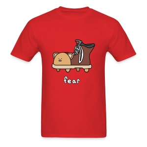 Fear Shoebear - Men's - Men's T-Shirt