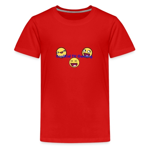 CoolKid TV Shirt Red - Kids' Premium T-Shirt
