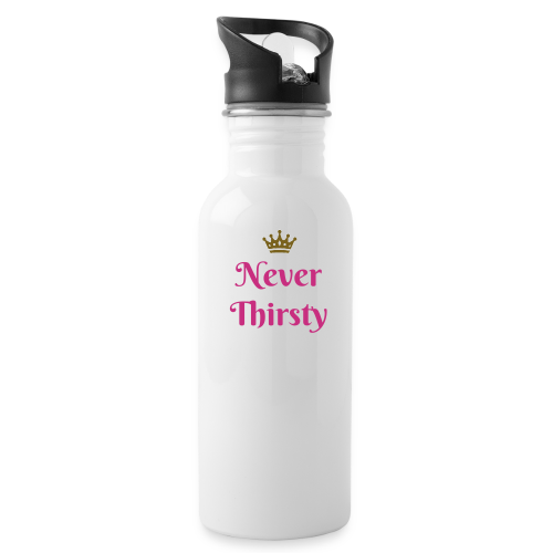 Never Thirsty Water Bottle - Water Bottle