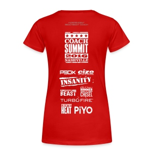 TOF Special Edition Summit 2016 Womens T-Shirt - Women's Premium T-Shirt