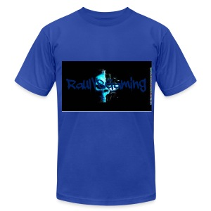 RaulVsGaming Blue T-Shirt - Men's T-Shirt by American Apparel