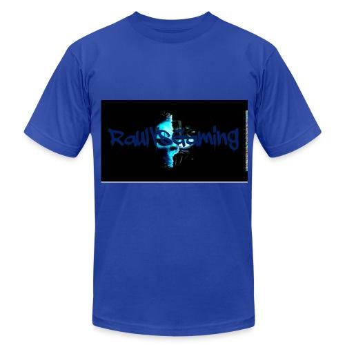 RaulVsGaming Blue T-Shirt - Men's Fine Jersey T-Shirt