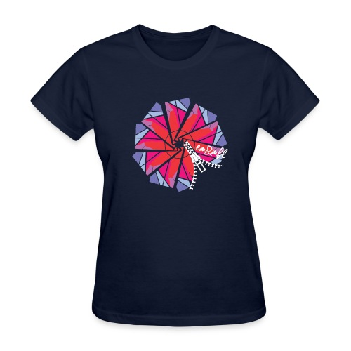 ZIP-2 - T-shirt pour femmes