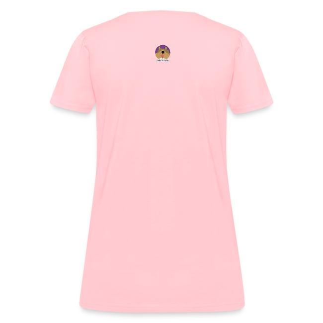 Two Thumbs Sheltie Gal - Womens T-shirt
