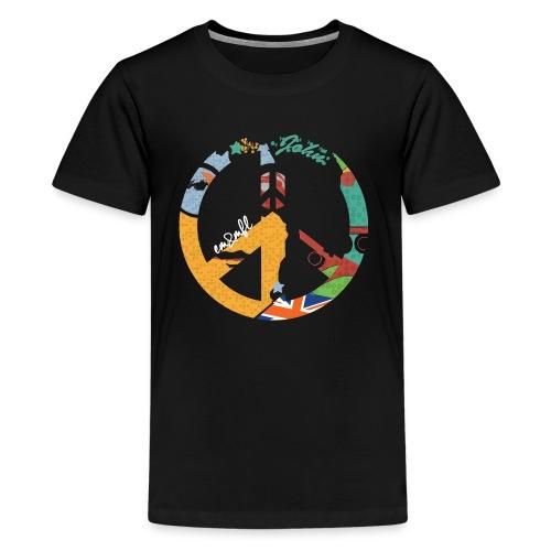 LENNON-PEACE anthracite - T-shirt premium pour ados