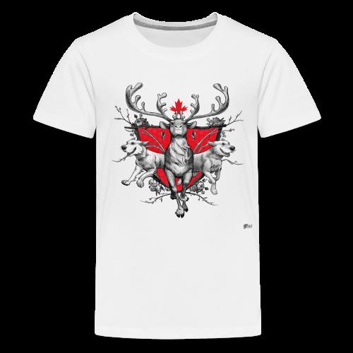 Kids Cariboutiful - Kids' Premium T-Shirt