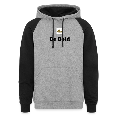 Be Bold Colorblock Hoodie - Colorblock Hoodie