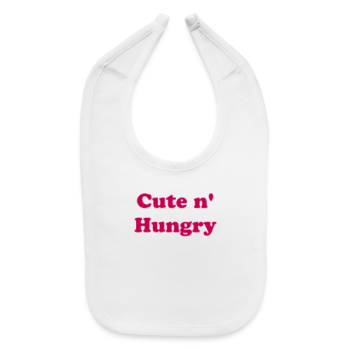 Cute n' Hungry Baby Bib - Baby Bib