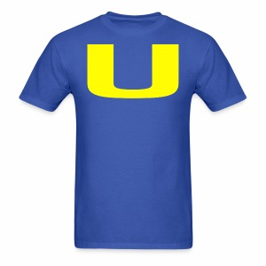 A U on a Shirt - Men's T-Shirt
