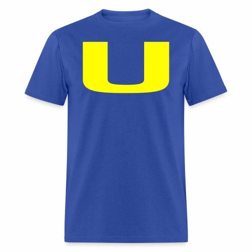 A U on a Shirt - Men's T-Shirt