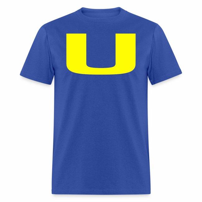 A U on a Shirt