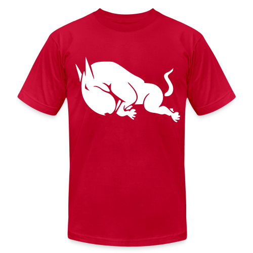 White Bullterrier - Men's Fine Jersey T-Shirt