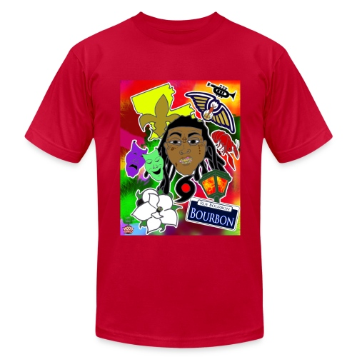 The City - Men's  Jersey T-Shirt
