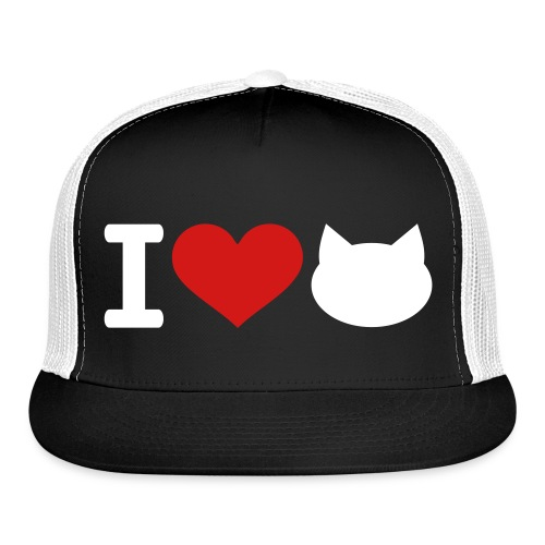 kitty cap - Trucker Cap