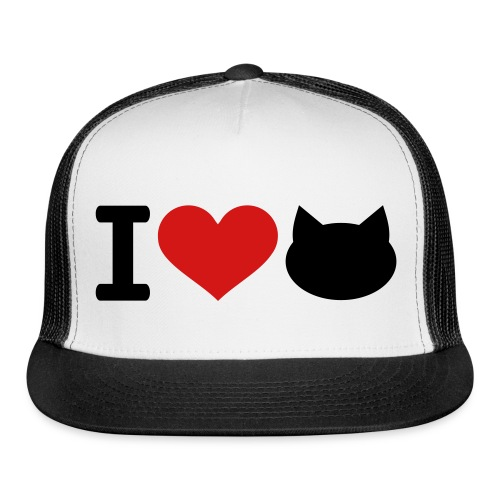 kitty cap2 - Trucker Cap