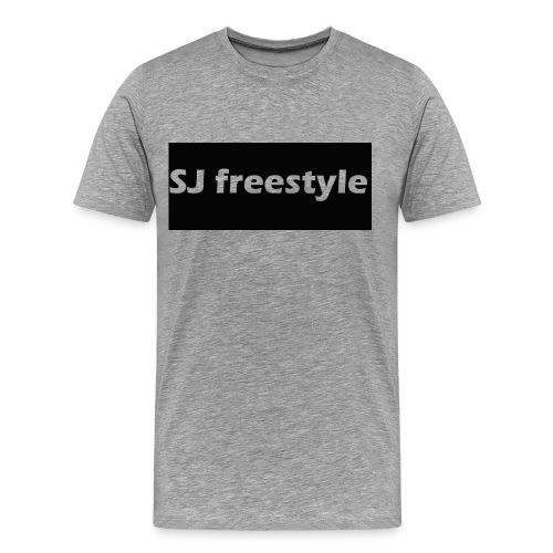 SJ freestyle shirt (grey) - Men's Premium T-Shirt
