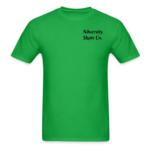 Adversity mens tee front & back design ( In Varieties of colors) - Men's T-Shirt