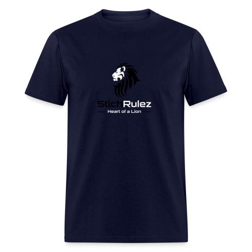 StichRulez Lion's Heart - Men's T-Shirt