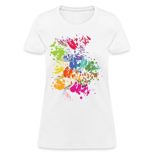 Splat Womens Relaxed Fit T-Shirt - Women's T-Shirt