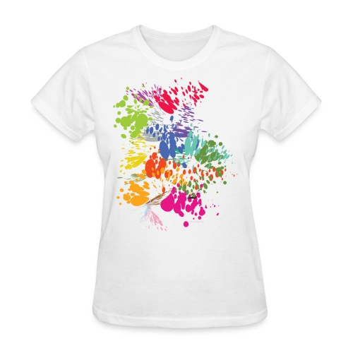 Splat Womens Relaxed Fit T-Shirt - Women's T-Shirt