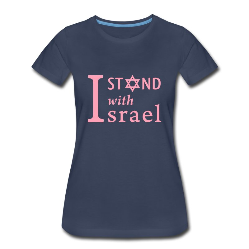 I Stand Ladies' Slate - Women's Premium T-Shirt
