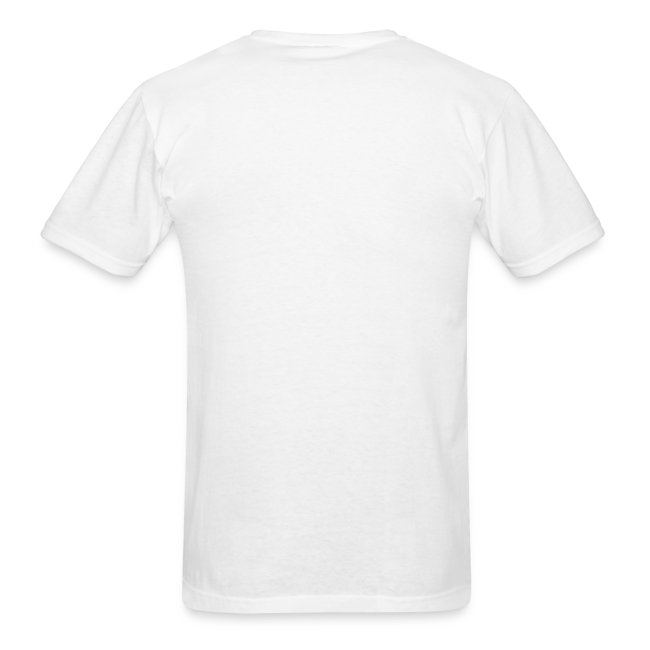I STAND WITH ISRAEL Mens' White T-Shirt