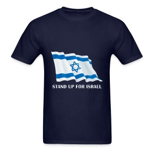 Stand Up For Israel Mens' T-Shirt - Men's T-Shirt