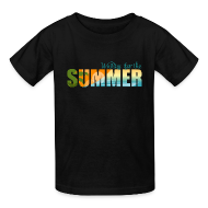 Kids' Shirts ~ Kids' T-Shirt ~ Waiting for the Summer