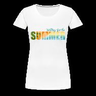 Women's T-Shirts ~ Women's Premium T-Shirt ~ Waiting for the Summer
