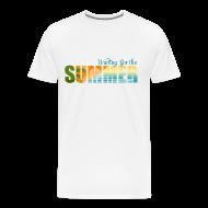 T-Shirts ~ Men's Premium T-Shirt ~ Waiting for the Summer