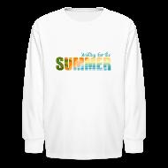 Kids' Shirts ~ Kids' Long Sleeve T-Shirt ~ Waiting for the Summer