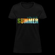 Women's T-Shirts ~ Women's T-Shirt ~ Waiting for the Summer