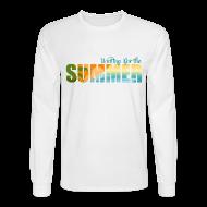 Long Sleeve Shirts ~ Men's Long Sleeve T-Shirt ~ Waiting for the Summer