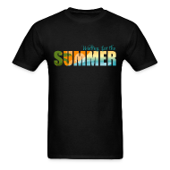 T-Shirts ~ Men's T-Shirt ~ Waiting for the Summer