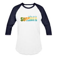 T-Shirts ~ Baseball T-Shirt ~ Waiting for the Summer